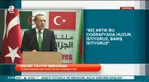 Cumhurbaşkanı Erdoğan Cezayir'de konuştu