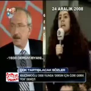 Kemal Kılıçdaroğlu: dersim özür dilenecek bir mesele değildir
