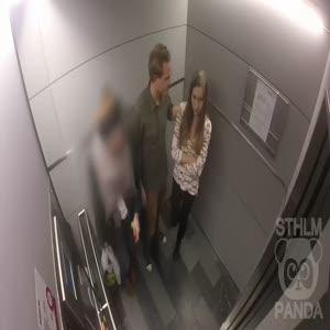 Asansörde kız arkadaşını döven birini görseniz ne yaparsınız?