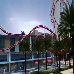 Dünyanın en yüksek Roller Coaster'ı