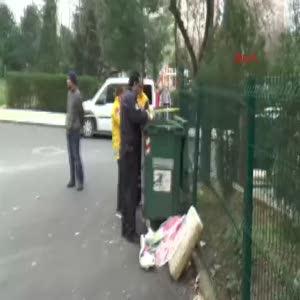 Çöp konteynırında bebek cesedi bulundu