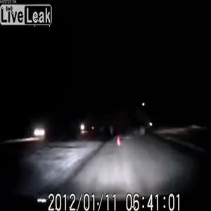 Rusya'da görünmez kaza