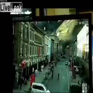 Çin depreminin görüntüleri ortaya çıktı