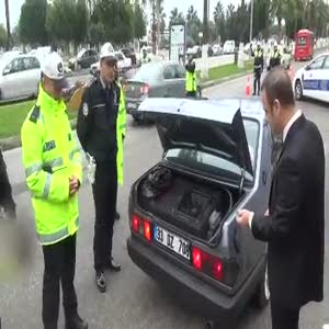 Modifiyeli araçlar trafikten men edildi