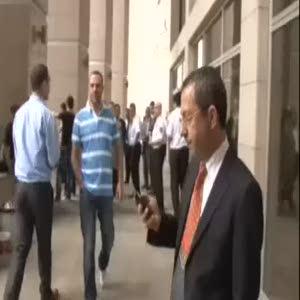 Gözaltına alınan Hayyam Garipoğlu adliyede böyle görüntülenmişti
