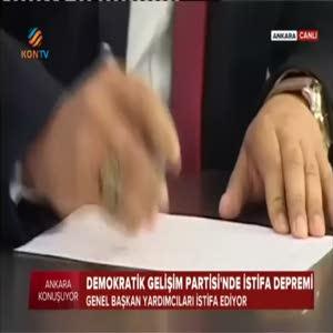 İdris Bal'ın yardımcıları canlı yayında istifa etti