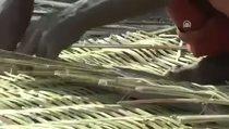 Bambu ağacından geçimlerini sağlıyorlar