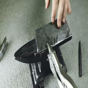 İşte basit bir çiviyi kılıç yapmak