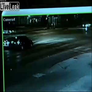 Ölümcül kazayı kameralar böyle görüntüledi