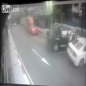Gökten araba düştü