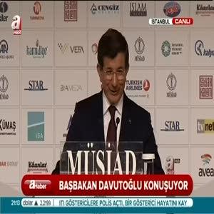 Davutoğlu'ndan ekonomi açıklaması