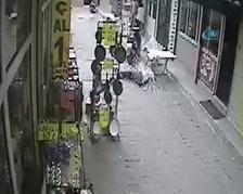 Hatay'da kız öğrenci 5. kattan böyle düştü