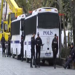 Sultanahmet'te güvenlik önlemleri alındı