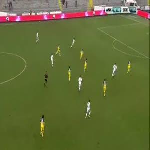 MKE Ankaragücü: 0 - Sivas 4 Eylül Belediyespor: 1
