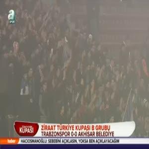 Trabzonspor: 0 - Akhisar Bld. Genç: 0 (Özet)