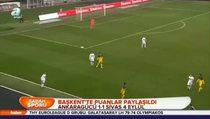 MKE Ankaragücü: 1 - Sivas 4 Eylül Belediyespor: 1 (Özet)