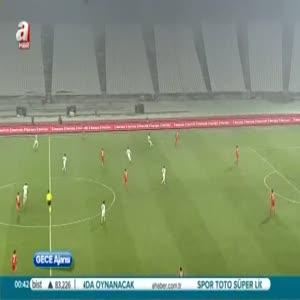 Beşiktaş: 0- Çaykur Rizespor: 1 (Özet)