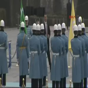 Katar Emiri Şeyh Temim bin Hamad Al Sani Ankara'da