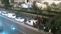 Sırp taraftarın cinayeti güvenlik kamerasında