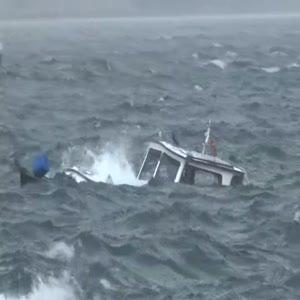 Beykoz'da tekne battı