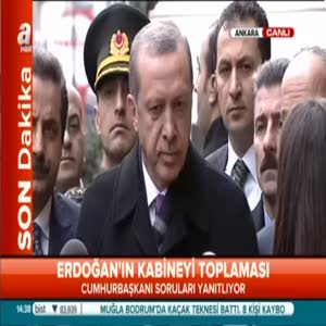 Erdoğan Bakanlar Kurulu'nu toplayacağı tarihi açıkladı