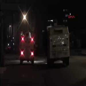 Polis Osmanlı marşıyla göstericilere müdahale etti