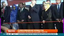 Erdoğan Mogadişu'da açılış törenine katıldı