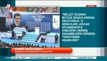 Ahmet Davutoğlu Diyarbakır'da konuştu