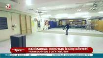 Danimarkalı okçudan akıl almaz gösteri