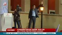 Yunanistan'da zafer 'sol'un