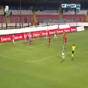 Mersin İ. Yurdu: 0 - Bursaspor: 5