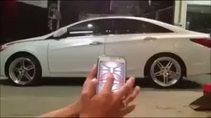 Telefonla arabayı kontrol etmek