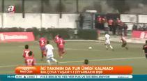 Balçova Belediyespor: 1 - Diyarbakır BB: 1 (Özet)