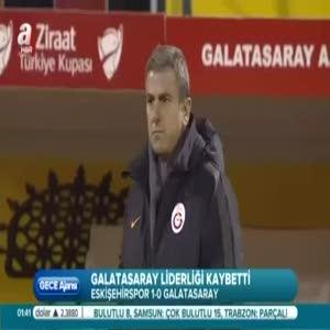 Eskişehirspor: 1- Galatasaray: 0 (Özet)