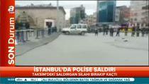 Taksim'de polislere silahlı saldırı