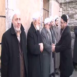 Davutoğlu İsmail Ustaosmanoğlu'nun cenazesine katıldı