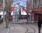 Marmara'daki etkili lodos çatıları uçurdu