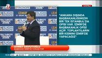 Davutoğlu: İzmir'e Başbakanlık ofisi açılacak