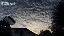 Bulutların bu görüntüsüne hayran kalacaksınız