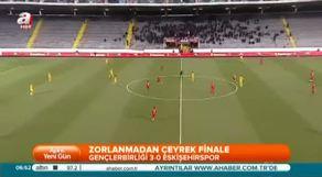 Gençlerbirliği: 3 - Eskişehirspor: 0 (Özet)