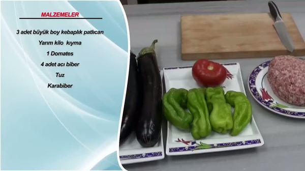 Patlıcan kebap nasıl hazırlanır?