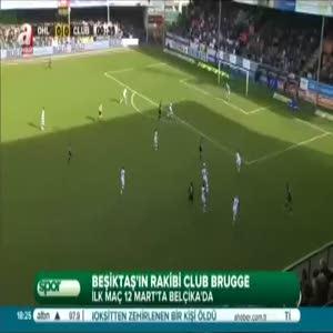 Beşiktaş'ın rakibi Club Brugge