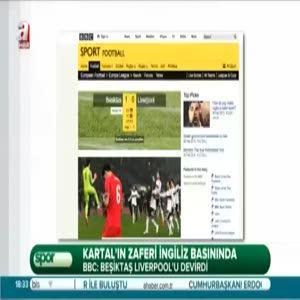 Beşiktaş dünya basında böyle yer aldı!