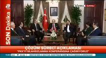 Başbakan Yardımcısı Akdoğan'dan 'Çözüm Süreci' açıklaması