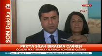 PKK'ya silah bırakma çağrısına Demirtaş'tan ilk tepki
