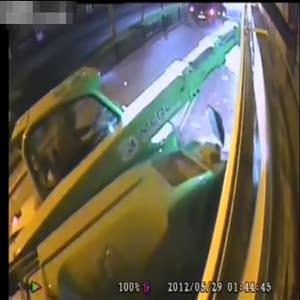 İş makinesiyle soygun