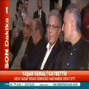 Yaşar Kemal yaşamını yitirdi