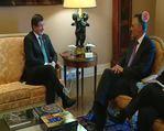 Davutoğlu, Portekiz Cumhurbaşkanı Cavaco Silva ile bir araya geldi