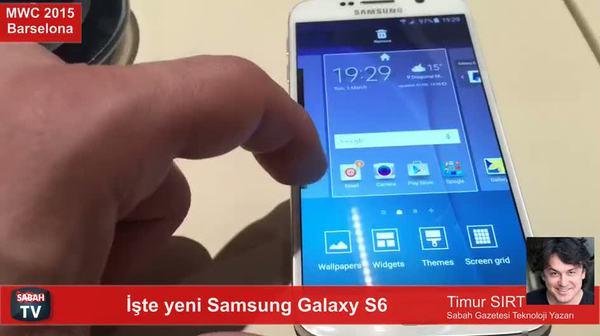 İşte yeni Samsung Galaxy S6