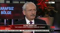 Kemal Kılıçdaroğlu ne diyeceğini bilemedi